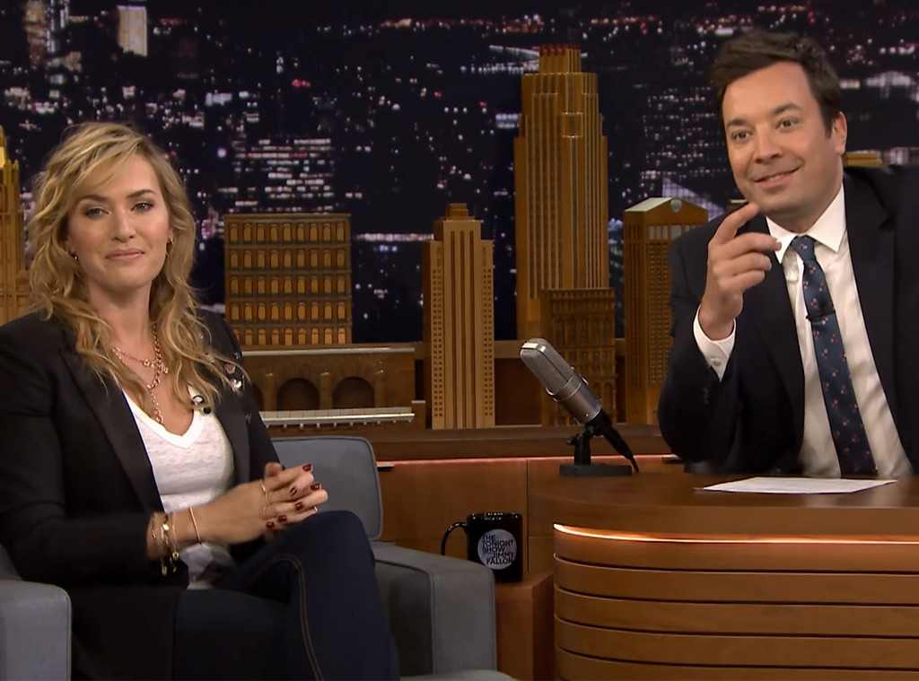 Kate Winslet, Jimmy Fallon